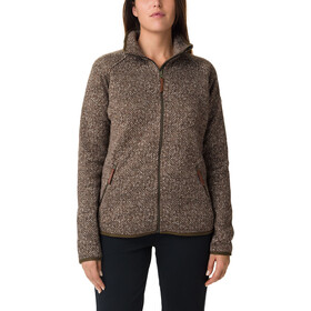 Columbia Chillin Fleece Jas zonder capuchon Dames, olive green